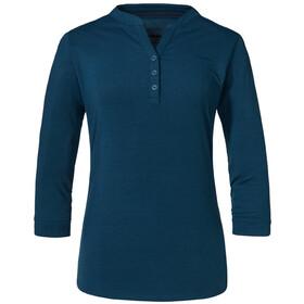 Schöffel Bukarest Camiseta Manga Larga Mujer, azul